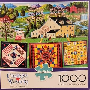 The Quiltmaker Lady Puzzle